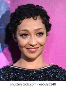 LOS ANGELES - JUN 20:  Ruth Negga arrives for the AMC Season Two 'Preacher' Premiere Screening on June 20, 2017 in Los Angeles, CA