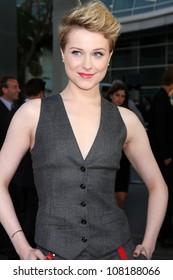 LOS ANGELES - JUN 21:  Evan Rachel Wood arriving at the True Blood Season 4 Premiere at ArcLight Theater on June 21, 2011 in Los Angeles, CA