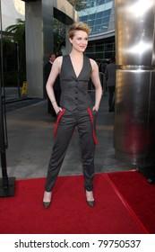 LOS ANGELES - JUN 21:  Evan Rachel Wood arrives at the True Blood Season 4 Premiere at ArcLight Theater on June 21, 2011 in Los Angeles, CA