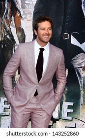 """LOS ANGELES - JUN 22:  Armie Hammer  at the World Premiere of """"The Lone Ranger"""" at the Disney's California Adventure on June 22, 2013 in Anaheim, CA"""