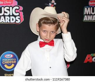 LOS ANGELES - JUN 22:  Mason Ramsey at the 2018 Radio Disney Music Awards at the Loews Hotel on June 22, 2018 in Los Angeles, CA