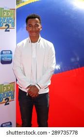 "LOS ANGELES - JUN 22:  Raymond Cham, Jr at the ""Teen Beach 2"" Premiere  at the Walt Disney Studios on June 22, 2015 in Burbank, CA"