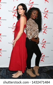 LOS ANGELES - JUN 23:  Cait Fairbanks, Loren Lott at the Young and The Restless Fan Club Luncheon at the Marriott Burbank Convention Center on June 23, 2019 in Burbank, CA