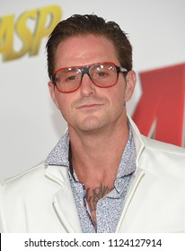 LOS ANGELES - JUN 25:  Cameron Douglas arrives to the 'Ant-Man and The Wasp' World Premiere  on June 25, 2018 in Hollywood, CA
