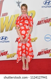 LOS ANGELES - JUN 25:  Judy Greer arrives to the 'Ant-Man and The Wasp' World Premiere  on June 25, 2018 in Hollywood, CA
