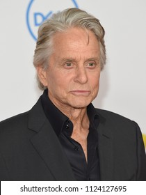 LOS ANGELES - JUN 25:  Michael Douglas arrives to the 'Ant-Man and The Wasp' World Premiere  on June 25, 2018 in Hollywood, CA