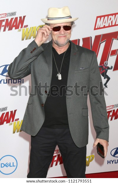 LOS ANGELES - JUN 25:  Michael Rooker at the Ant-Man and the Wasp Premiere at the El Capitan Theater on June 25, 2018 in Los Angeles, CA