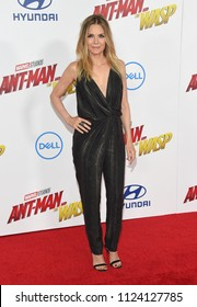 LOS ANGELES - JUN 25:  Michelle Pfeiffer arrives to the 'Ant-Man and The Wasp' World Premiere  on June 25, 2018 in Hollywood, CA