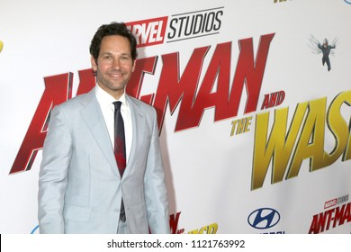LOS ANGELES - JUN 25:  Paul Rudd at the Ant-Man and the Wasp Premiere at the El Capitan Theater on June 25, 2018 in Los Angeles, CA