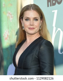 LOS ANGELES - JUN 26:  Amy Adams arrives to the HBO 'Sharp Objects' Premiere  on June 26, 2018 in Hollywood, CA