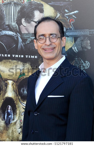 """LOS ANGELES - JUN 26:  Bruno Bichir at the """"Sicario: Day Of The Soldado"""" Premiere at the Village Theater on June 26, 2018 in Westwood, CA"""