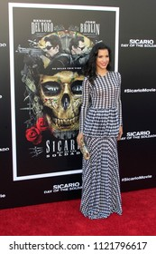 "LOS ANGELES - JUN 26:  Danay Garc at the ""Sicario: Day Of The Soldado"" Premiere at the Village Theater on June 26, 2018 in Westwood, CA"