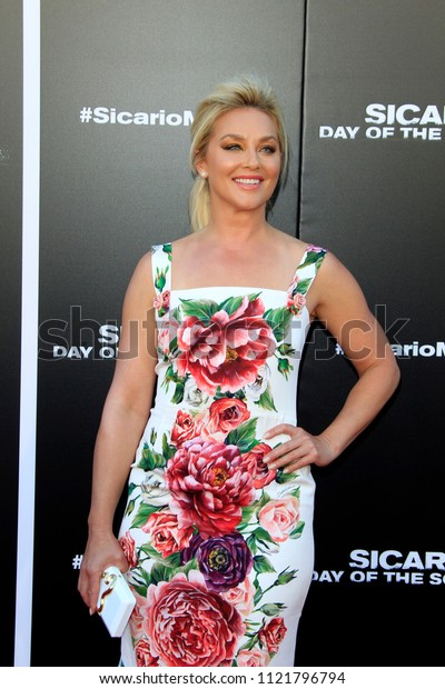 """LOS ANGELES - JUN 26:  Elisabeth Roh at the """"Sicario: Day Of The Soldado"""" Premiere at the Village Theater on June 26, 2018 in Westwood, CA"""