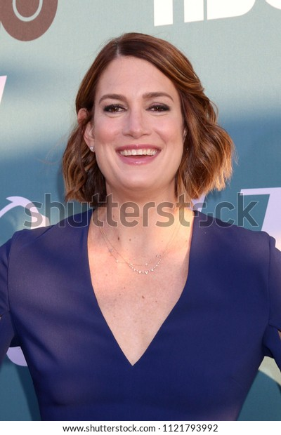 """LOS ANGELES - JUN 26:  Gillian Flynn at the """"Sharp Objects"""" HBO Premiere Screening at the ArcLight Theater on June 26, 2018 in Los Angeles, CA"""