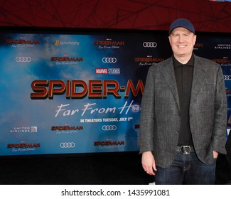 "LOS ANGELES - JUN 26:  Kevin Feige at the ""Spider-Man Far From Home"" Premiere at the TCL Chinese Theater IMAX on June 26, 2019 in Los Angeles, CA"
