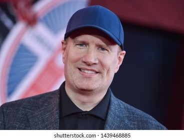 LOS ANGELES - JUN 26:  Kevin Feige arrives for the 'Spider-Man: Far From Home' World Premiere on June 26, 2019 in Hollywood, CA