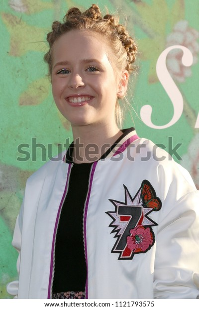"""LOS ANGELES - JUN 26:  Lulu Wilson at the """"Sharp Objects"""" HBO Premiere Screening at the ArcLight Theater on June 26, 2018 in Los Angeles, CA"""