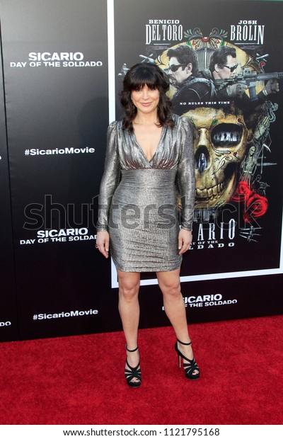 """LOS ANGELES - JUN 26:  Moniqua Plante at the """"Sicario: Day Of The Soldado"""" Premiere at the Village Theater on June 26, 2018 in Westwood, CA"""