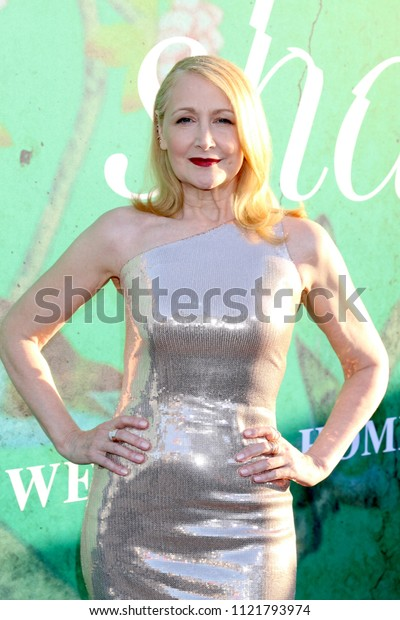 """LOS ANGELES - JUN 26:  Patricia Clarkson at the """"Sharp Objects"""" HBO Premiere Screening at the ArcLight Theater on June 26, 2018 in Los Angeles, CA"""