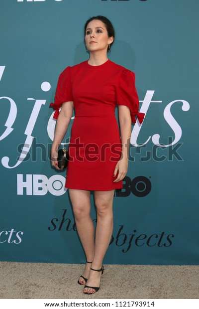 "LOS ANGELES - JUN 26:  Shannon Woodward at the ""Sharp Objects"" HBO Premiere Screening at the ArcLight Theater on June 26, 2018 in Los Angeles, CA"
