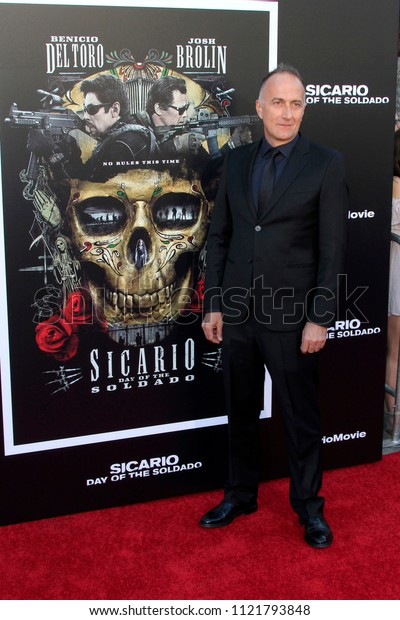 """LOS ANGELES - JUN 26:  Stefano Sollima at the """"Sicario: Day Of The Soldado"""" Premiere at the Village Theater on June 26, 2018 in Westwood, CA"""
