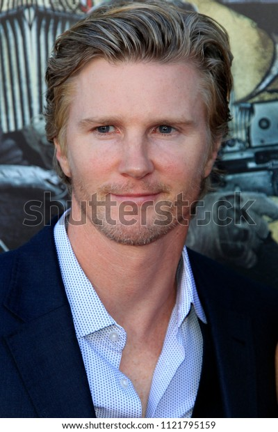 "LOS ANGELES - JUN 26:  Thad Luckinbill at the ""Sicario: Day Of The Soldado"" Premiere at the Village Theater on June 26, 2018 in Westwood, CA"