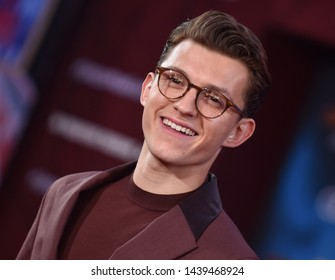 LOS ANGELES - JUN 26:  Tom Holland arrives for the 'Spider-Man: Far From Home' World Premiere on June 26, 2019 in Hollywood, CA