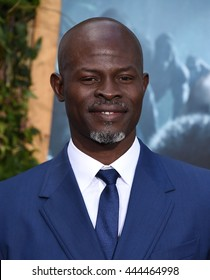 """LOS ANGELES - JUN 27:  Djimon Hounsou arrives to the """"The Legend of Tarzan"""" World Premiere on June 27, 2016 in Hollywood, CA"""