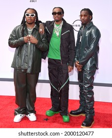 LOS ANGELES - JUN 27:  Migos {Object} arrives for the 2021 BET Awards on June 27, 2021 in Los Angeles, CA