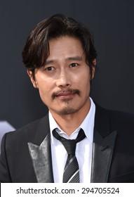 "LOS ANGELES - JUN 28:  Byung-hun Lee arrives to the ""Terminator Genisys"" Los Angeles Premiere  on June 28, 2015 in Hollywood, CA"