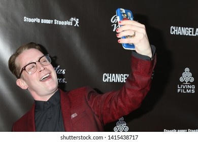 "LOS ANGELES - JUN 3:  Macaulay Culkin at the ""Changeland"" Los Angeles Premiere at the ArcLight Hollywood on June 3, 2019 in Los Angeles, CA"