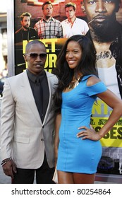 LOS ANGELES - JUN 30: Jamie Foxx and daughter at the Premiere of 'Horrible Bosses' at Grauman's Chinese Theatre on June 30, 2011 in Los Angeles, California