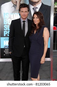 "LOS ANGELES - JUN 30:  JASON BATEMAN & AMANDA ANKA arrives to the ""Horrible Bosses"" Los Angeles Premiere  on June 30,2011 in Hollywood, CA"