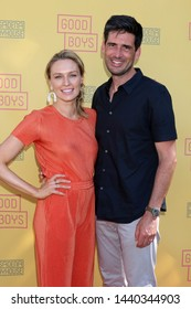 "LOS ANGELES - JUN 30:  Michaela McManus, Mike Daniels at the ""Good Boys"" Play Opening Arrivals at the Pasadena Playhouse on June 30, 2019 in Pasadena, CA"