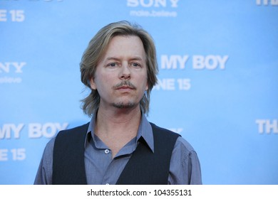 LOS  ANGELES- JUN 4: David Spade at the premiere of Columbia Pictures' 'That's My Boy' at the Regency Village Theater on June 4, 2012 in Los Angeles, California