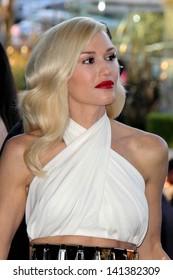 """LOS ANGELES - JUN 4:  Gwen Stefani arrivesa at the """"The Bling Ring"""" Los Angeles Premiere at the DGA Theater on June 4, 2013 in Los Angeles, CA"""