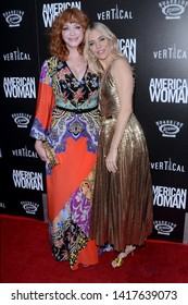 "LOS ANGELES - JUN 5:  Christina Hendricks, Sienna Miller at the ""American Woman"" L.A. Premiere at the ArcLight Hollywood on June 5, 2019 in Los Angeles, CA"