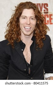"""LOS ANGELES - JUN 5: Shaun White at the Spike TV's 4th Annual """"Guys Choice Awards"""" at Sony Studios in Culver City, Los Angeles, California on June 05, 2010"""