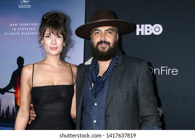 "LOS ANGELES - JUN 5:  Shelby Bullard, Jonah Johnson at the ""Ice on Fire"" HBO Premiere at the LACMA Bing Theater on June 5, 2019 in Los Angeles, CA"