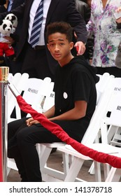 LOS ANGELES - JUN 6:  Jayden Smith at the Hand & Footprint ceremony for Jackie Chan at the TCL Chinese Theater on June 6, 2013 in Los Angeles, CA
