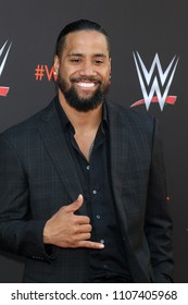 LOS ANGELES - JUN 6:  Jimmy Uso, Jonathan Solofa Fatu Jr at the WWE For Your Consideration Event at the TV Academy Saban Media Center on June 6, 2018 in North Hollywood, CA