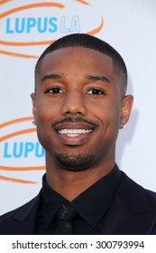 LOS ANGELES - JUN 6:  Michael B Jordan at the Lupus LA Orange Ball  at the Fox Studios on June 6, 2015 in Century City, CA