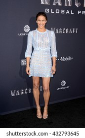 LOS ANGELES - JUN 6:  Paula Patton at the Warcraft Global Premiere at TCL Chinese Theater IMAX on June 6, 2016 in Los Angeles, CA