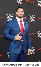 LOS ANGELES - JUN 6:  Roman Reigns at the WWE For Your Consideration Event at the TV Academy Saban Media Center on June 6, 2018 in North Hollywood, CA