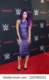 LOS ANGELES - JUN 6:  Sasha Banks at the WWE For Your Consideration Event at the TV Academy Saban Media Center on June 6, 2018 in North Hollywood, CA