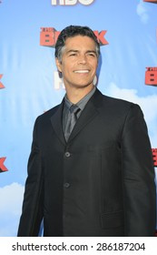 """LOS ANGELES - JUN 8:  Esai Morales at the HBO's """"The Brink"""" Premiere at the Paramount Studios on June 8, 2015 in Los Angeles, CA"""