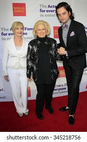 LOS ANGELES - JUN 8:  Florence Henderson, Barbara Cook, Constantine Maroulis at the 2014 Tony Award Viewing Party at the Taglyan Cultural Complex  on June 8, 2014 in Los Angeles, CA