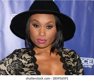 """LOS ANGELES - JUN 9:  Angell Conwell at the """"Family Time"""" Season 3 Wrap Party at the El Mariachi Grill on June 9, 2015 in Encino, CA"""