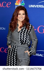 """LOS ANGELES - JUN 9:  Debra Messing at the """"Will & Grace"""" FYC Event  at the Harmony Gold Theatre on June 9, 2018 in Los Angeles, CA"""