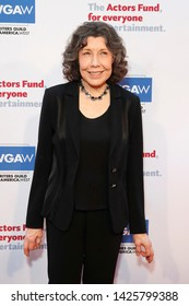 LOS ANGELES - JUN 9: Lily Tomlin at The Actors Fund's 23rd Annual Tony Awards Viewing Gala honoring Lily Tomlin at the Skirball Cultural Center on June 9, 2019 in Los Angeles, CA